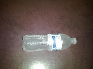 My ice bottle under my desk at work!