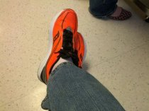 May = New Orange Shoes!