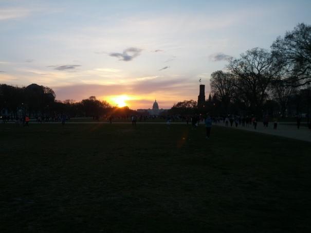The Sunrise over the Capital