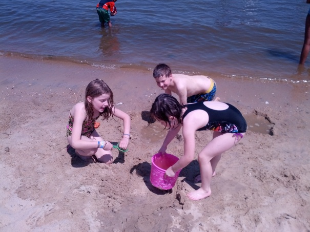 My kids can find friends to play with anywhere!