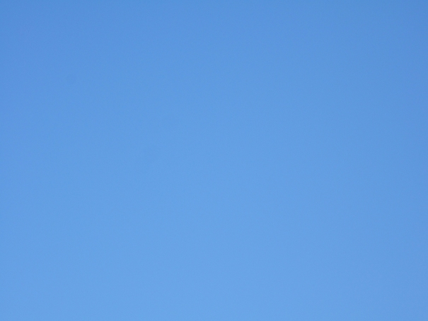 to my Binghamton area friends - this is what the sky looks like when there are no clouds!