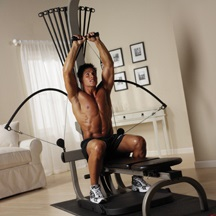 Me (you believe that right?) Doing a shoulder press!