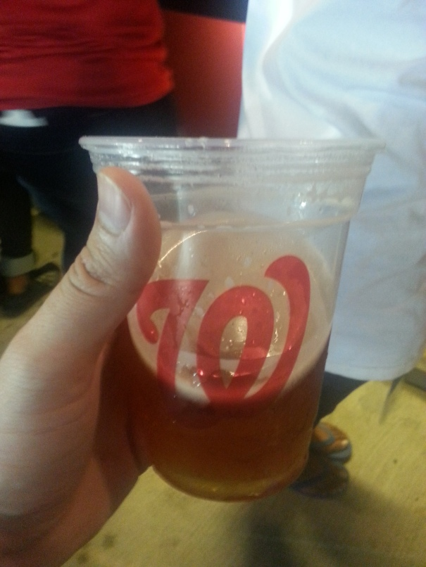 I think its great that the Washington Nationals and Wegmans share a logo.