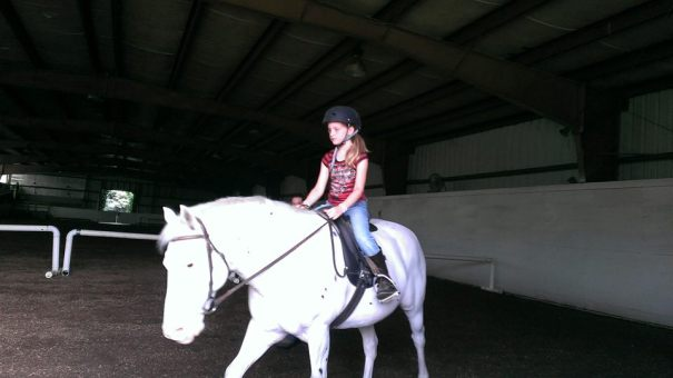 Thats right.. riding lessons. We are the coolest parents.