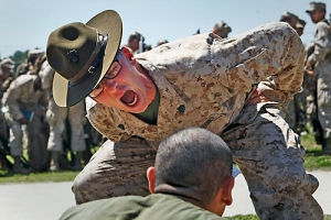 Can you see the motivation being applied? Picture from: http://blogs.militarytimes.com/line-of-sight/tag/drill-instructor/
