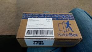 The Stride Box Un-Opened!